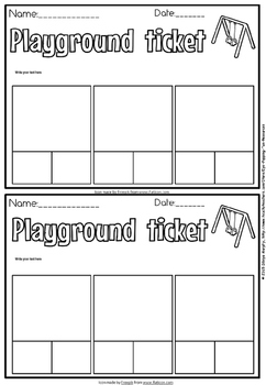 exit tickets(free)