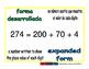 expanded form/forma desarrollada prim 1-way blue/verde