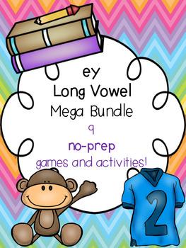 ey Long Vowel Mega Bundle! [9 no-prep games and activities]