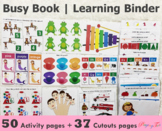 Learning Binder | Busy Book for Toddlers and Preschoolers