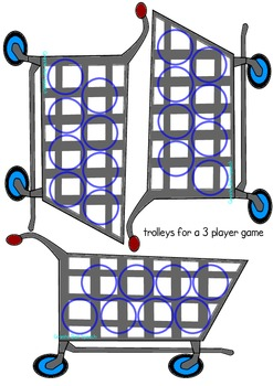 'f' In My Trolley Articulation Game - 'f' in initial, medial & final position