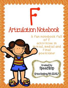 /f/ Articulation Notebook!
