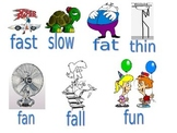 f initial phonemic pictures words