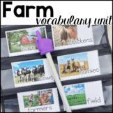 Farm Vocabulary Unit