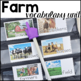 Farm Vocabulary Unit