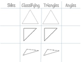 Classifying Triangle Notes