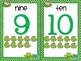 Numbers 1-20 {Frog Themed}