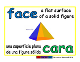 face/cara geom 1-way blue/verde