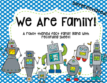 fact families - Differentiated
