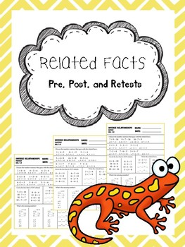 related facts pretest, posttest, and retest