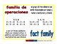 fact family/familia de operaciones prim 1-way blue/rojo