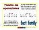 fact family/familia de operaciones prim 1-way blue/rojo