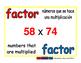 factor/factor prim 1-way blue/rojo
