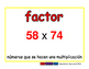 factor/factor prim 2-way blue/rojo