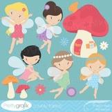 fairy clipart commercial use, vector graphics, digital clip art - CL513
