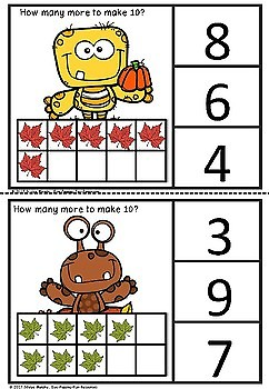 fall clipcards