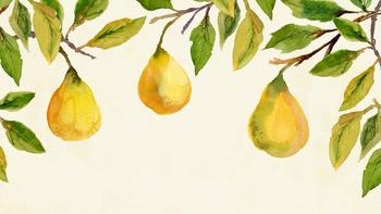 fall desktop wallpaper, pear background