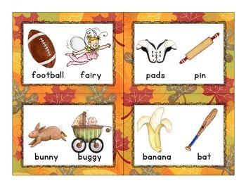 fall rhyme sort_scarecrow theme