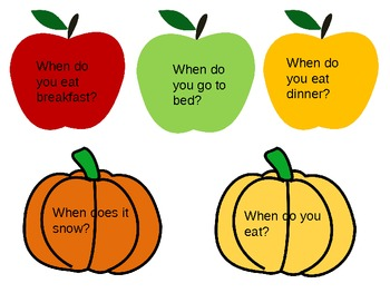 """fall """"when"""" questions"""