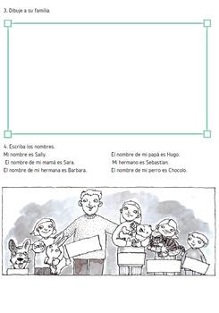 family in spanish/ familia