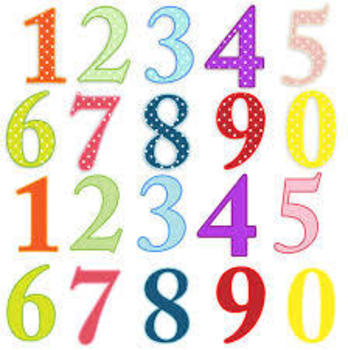 """Spanish """"famous"""" numbers"""