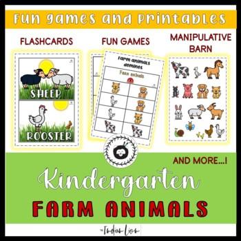 farm animal flashcards