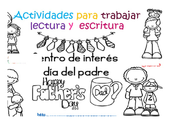 fathers day activity in spanish