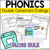 ff, ll, ss, zz double consonant endings Mini Reader and ac