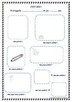 Introduce Yourself For Kids Worksheets & Teaching Resources ...
