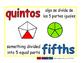 fifths/quintos meas 1-way blue/rojo