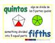 fifths/quintos meas 1-way blue/verde
