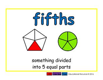fifths/quintos meas 2-way blue/verde