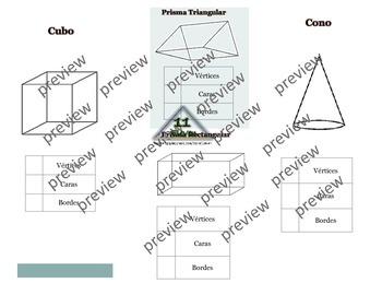 Figuras Geometricas  3D Folleto (Spanish)