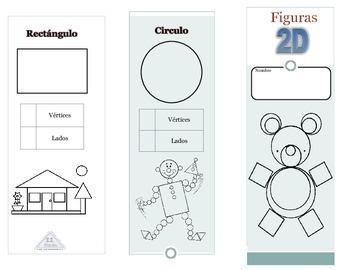 2D Shapes pamphlet (Spanish)
