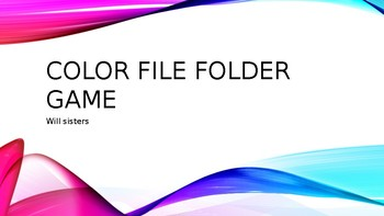 file folder color game