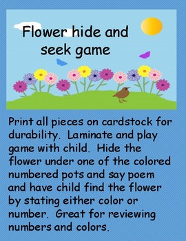 find the flower game