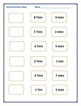 find the number worksheet