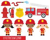 fire crew clipart, fireman clipart, fire engine clipart x 14 clipart images 300