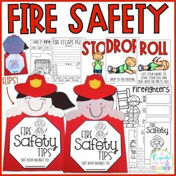 Fire Safety Kids {Craftivity & Printables}