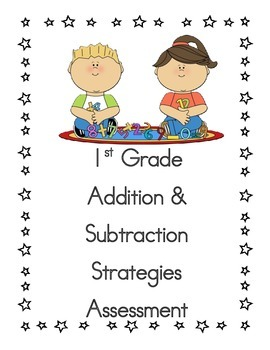 first grade addition and subtraction common core strategie