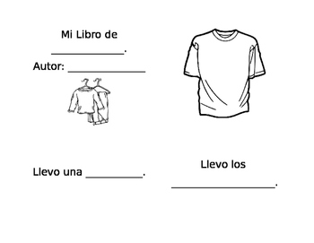 first grade ropa book clothing llevo