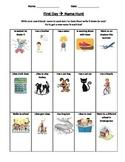 first week of school: name hunt & classroom hunt