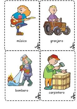 flashcards profesiones by spanish classroom | Teachers Pay Teachers