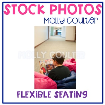 Stock Photo: Flexible Seating (Beanbags) #2 -Personal & Commercial Use