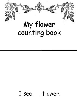 flower counting book