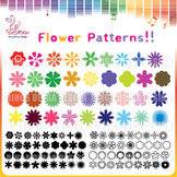 flower patterns Cliparts!