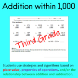 fluently add within 1,000 practice