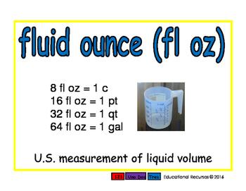 fluid ounce/onza fluida meas 2-way blue/rojo