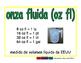 fluid ounce/onza fluida meas 2-way blue/verde