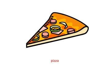 food flashcard